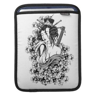 Japanese Geisha Girl iPad Sleeve