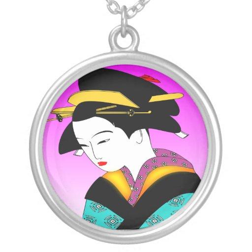Japanese Geisha Necklace