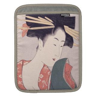 Japanese Geisha Sleeve For iPads