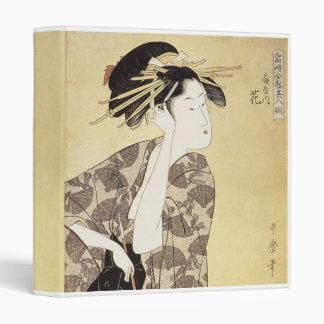 Japanese Geisha Vinyl Binder