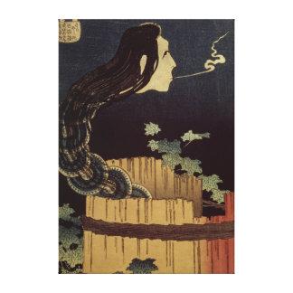 Japanese Ghost Canvas Print