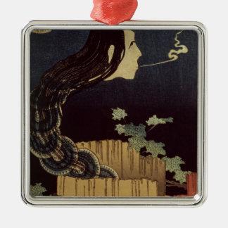 Japanese Ghost Metal Ornament