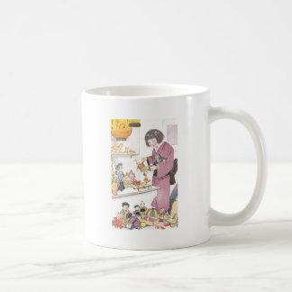 Japanese Girl and Dolls Classic White Coffee Mug