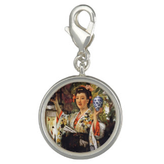 Japanese Girl Holding Objects Charm
