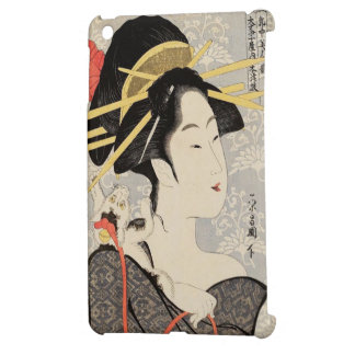 Japanese Girl iPad Mini Cover