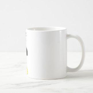 japanese girl with fan classic white coffee mug