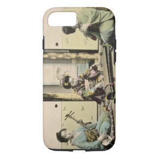 Japanese girls playing the flute, 'koto' and samis iPhone 8/7 case