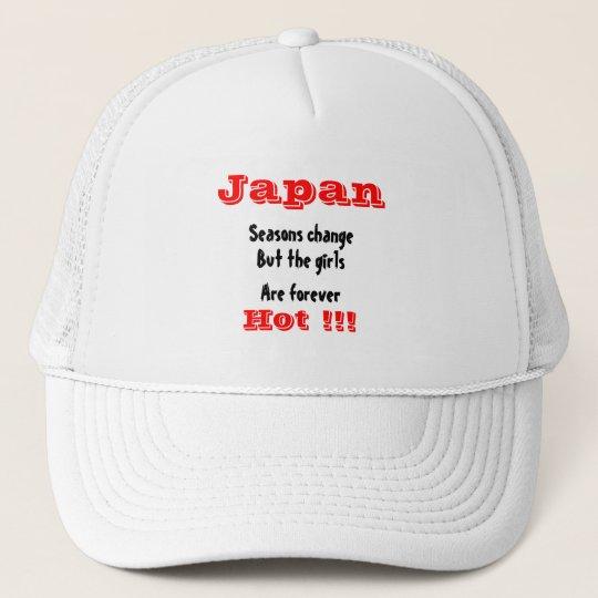 Japanese girls trucker hat