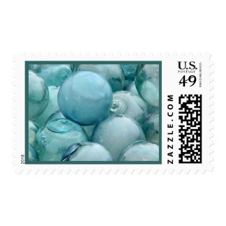 Japanese Glass Float stamp