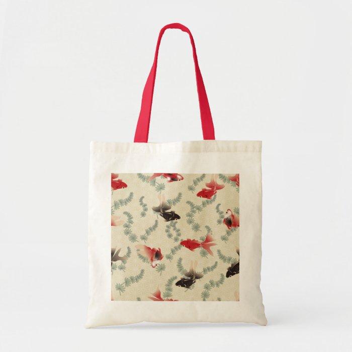 Japanese Goldfish Tote Bag