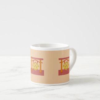 Japanese Gong Crest Espresso Mug