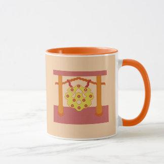 Japanese Gong Crest Mug