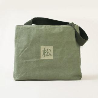 JAPANESE GOOD LUCK SYMBOL SUPER TOTE BAG
