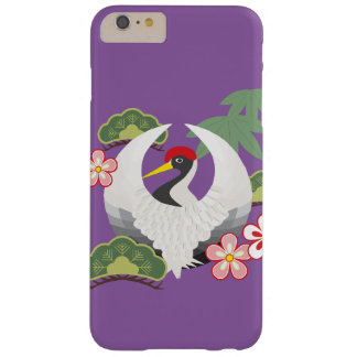 Japanese Good Luck Symbols Cool Elegant Purple Barely There iPhone 6 Plus Case