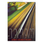 Japanese Government Railways Vintage Travel Poster