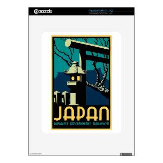 Japanese Government Railways Vintage World Travel iPad Skins