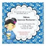 Japanese Grand Opening Invite