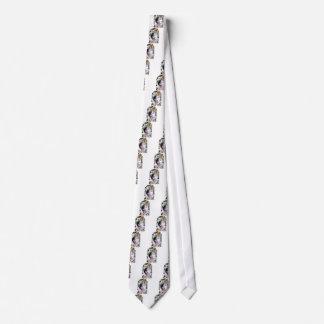 Japanese Grotesque Sword Design Neck Tie