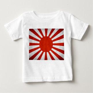 Japanese Grunge Flag Baby T-Shirt