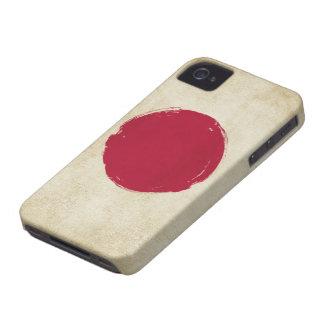 Japanese Grunge Flag Case-Mate iPhone 4 Case