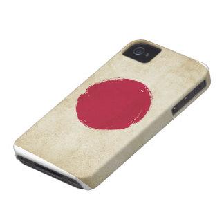 Japanese Grunge Flag iPhone 4 Case