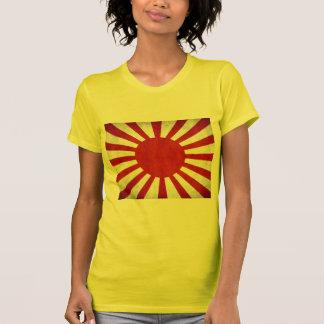 Japanese Grunge Flag T-Shirt