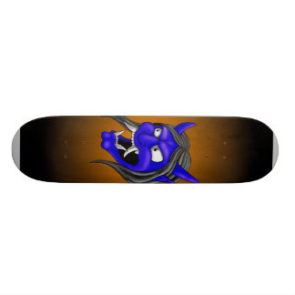Japanese Hannya Mask Skateboard