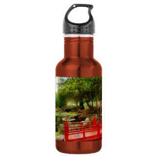 Japanese - Harmony and Nature 18oz Water Bottle