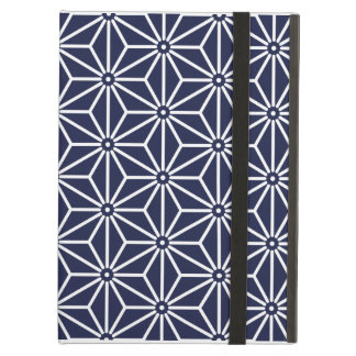 Japanese Herb leaves Pattern iPad Cover