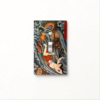 Japanese Heroine Princess Tamatori & Dragon King S Light Switch Cover