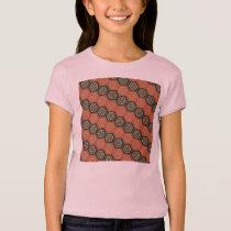 Japanese Hexagon Pattern Girls T-Shirt