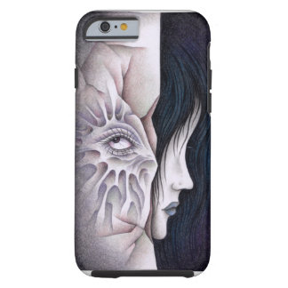 Japanese horror - Stare Tough iPhone 6 Case