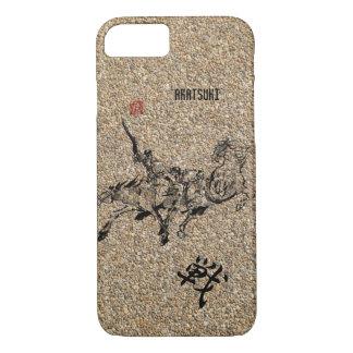Japanese horse art sumi equestrian iPhone 7 case