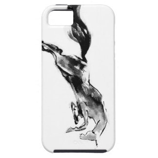 Japanese horse samurai art equestrian sumi iPhone SE/5/5s case