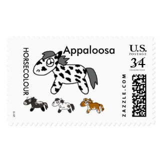 Japanese horse samurai art equestrian sumi postage