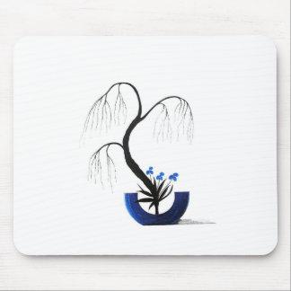Japanese Ikebana Shoka Style Mouse Pad