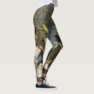 Japanese Imperial Court Performers Leggings