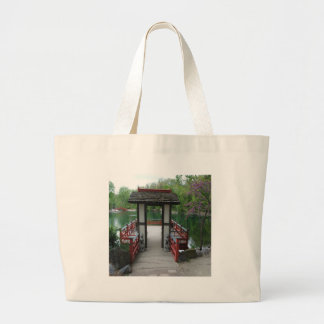 Japanese Inspiration Large Tote Bag