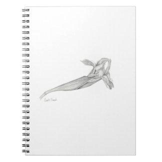 Japanese Iris Blossom (Iris ensata) Notebook