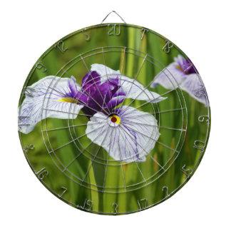 Japanese Iris Ensata Thunb Flowers Dart Boards