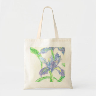 Japanese Irises Budget Tote Bag