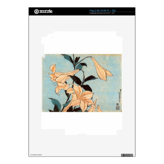 Japanese Irises Decal For The iPad 2