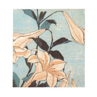 Japanese Irises Notepad