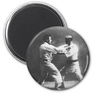 Japanese Judoka Jigoro Kano Kyuzo Mifue Judo 2 Inch Round Magnet