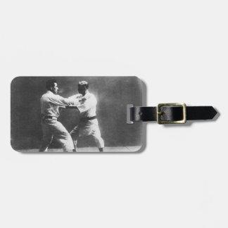 Japanese Judoka Jigoro Kano Kyuzo Mifue Judo Bag Tag