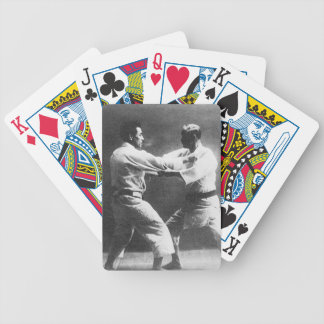 Japanese Judoka Jigoro Kano Kyuzo Mifue Judo Bicycle Playing Cards