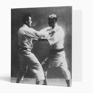Japanese Judoka Jigoro Kano Kyuzo Mifue Judo Binder