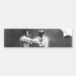 Japanese Judoka Jigoro Kano Kyuzo Mifue Judo Bumper Sticker