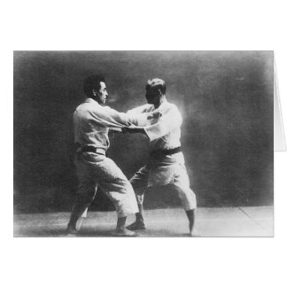 Japanese Judoka Jigoro Kano Kyuzo Mifue Judo Card