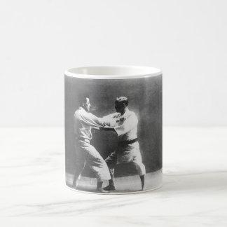 Japanese Judoka Jigoro Kano Kyuzo Mifue Judo Coffee Mug